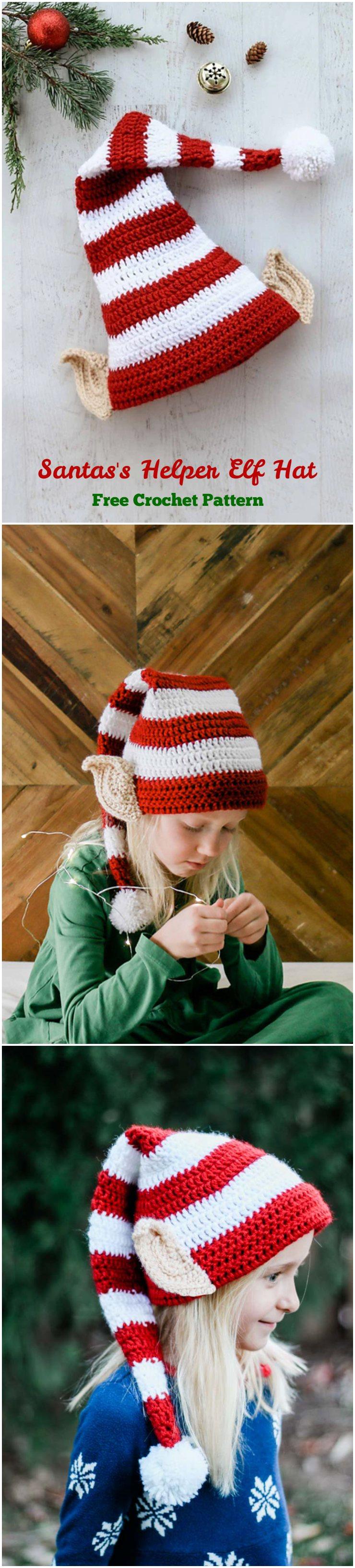 Crochet Santas Hepler Elf Hat