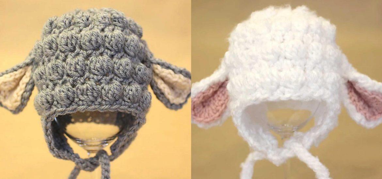 c732c8ae0a6 Crochet Lamb Hat