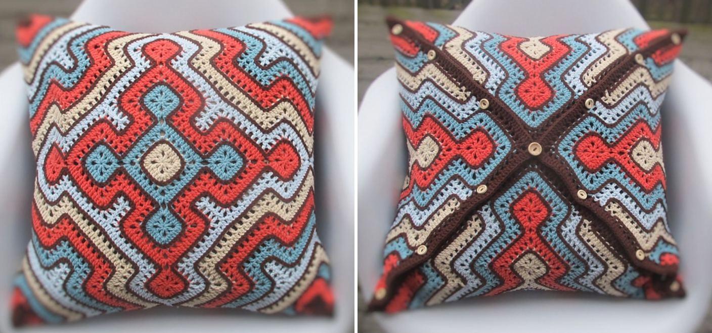 African Pillow Blanket